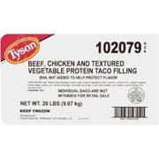 Tyson Meat Taco Shell, 5 Pound -- 4 per case.