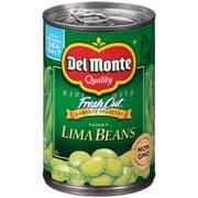 Del Monte Green Lima Beans, 15.25 Ounce -- 12 per case.