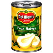Del Monte Fruit Pear Halves in Heavy Syrup, 15.25 Ounce -- 12 per case.