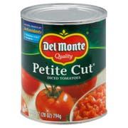 Del Monte Petite Diced Tomato, 28 Ounce -- 6 per case.