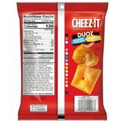 Sunshine Cheez It Duoz Caramel Popcorn and Cheddar Cracker, 4 Ounce -- 6 per case.