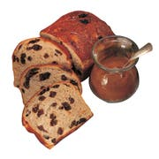 Country Home Bakers Sweet Raisin Bread, 18.5 Ounce -- 24 per case.