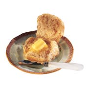 Readi Bake Benefit Whole Grain White Wheat Dinner Roll, 1 Ounce -- 408 per case.
