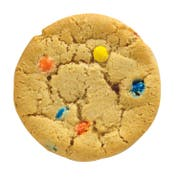 Readi Bake Benefit M and M Candy Cookies, 1 Ounce -- 384 per case.