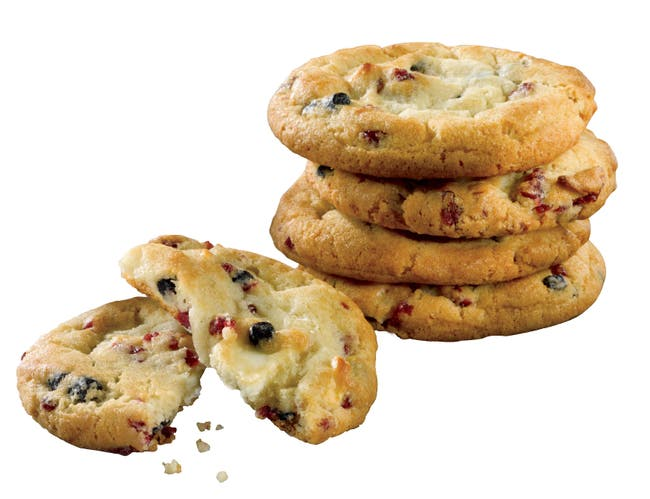 Country Home Bakers Benefit Whole Grain Red/White/Blue Cookie Dough, 1.33 Ounce -- 180 per case.