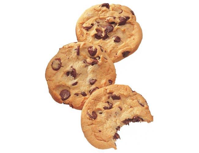 Readi Bake Chocolate Chip Cookie Dough, 4 Ounce -- 60 per case.