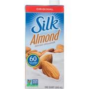 Silk Original Pure Almond Milk, 32 Ounce -- 6 per case.