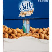 Silk Unsweetened Almond Milk, 1 Quart -- 6 per case.
