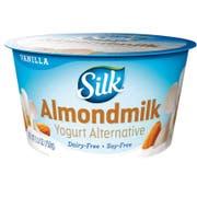 Silk Cultured Vanilla Almondmilk Yogurt Alternative, 5.3 Ounce -- 8 per case.