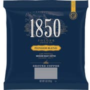 Folgers 1850 Pioneer Blend Medium Roast Ground Coffee, 5 Ounce -- 24 per case.