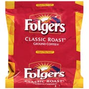 Folgers Classic Roast Ground Coffee, 1.05 Ounce -- 40 per case