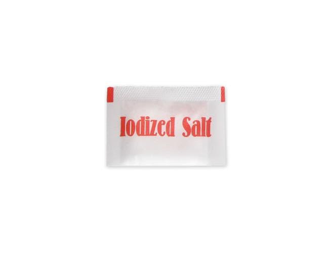 Ventura Foods Iodized Salt -- 3000 per case.