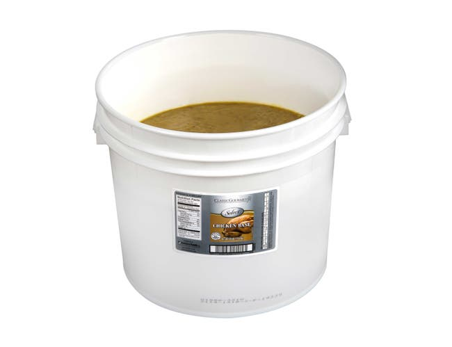 Classic Gourmet Select Chicken Base, 25 Pound -- 1 each.