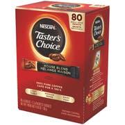 Tasters Choice Instant Coffee - 80 single serve sticks per box, 6 boxes per case