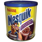Nesquik Chocolate Flavored Powder, 14.1 Ounce Canister -- 12 per case.