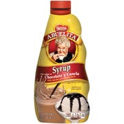 Nestle Abuelita Chocolate Cinnamon Syrup Bottle, 16 Ounce -- 12 per case.