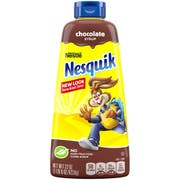 Nesquik Milk Flavoring Chocolate Syrup, 22 Ounce -- 6 per case.