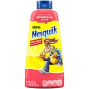 Nesquik Milk Flavoring Strawberry Syrup, 22 Ounce -- 6 per case.