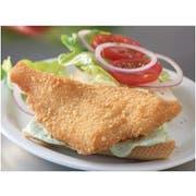 Trident Seafoods Crispy Golden Fried Flounder Fillet, 10 Pound -- 1 each.