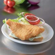 Trident Seafoods Crispy Golden Fried Flounder Fillet, 10 Pound -- 1 each.