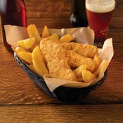 Trident Seafoods Golden Ale Battered Haddock Fillet, 2 Ounce -- 1 each.