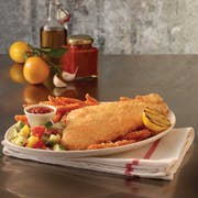 Trident Seafoods Golden Ale Beer Battered Haddock Fillet, 6 Ounce -- 1 each.