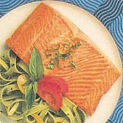 Trident Seafoods Farm Raised Skinless Boneless Atlantic Salmon Fillet - 20 of 8 Ounce Pieces, 10 Pound -- 1 each.