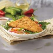 Trident Seafoods 4 Ounce 10 Grain Crunchy Breaded Pollock, 10 Pound -- 1 each.