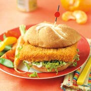 Trident Spicy Sandwich Portions Oven Ready Breaded Pollock, 3.6 Ounce -- 1 each.