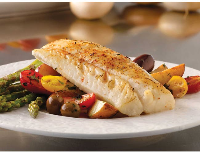 Trident Seafoods Skinless Boneless Portion Loin Cod - 26 of 6 Ounce Pieces, 10 Pound -- 1 each.
