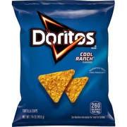 Doritos Cool Ranch Tortilla Chips, 1.75 Ounce -- 64 per case.