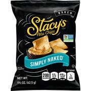 Stacys Naked Pita Chips, 1.5 Ounce -- 24 per case.
