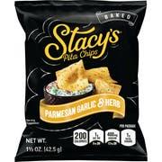 Stacys Parmesan Garlic Herb Pita Chips, 1.5 Ounce -- 24 per case.