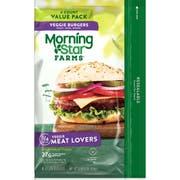 Morningstar Farms Meat Lovers Veggie Burger, 16 Ounce -- 6 per case.