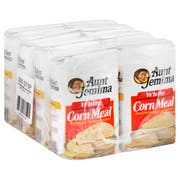 Aunt Jemima White Cornmeal Corn -- 8 Per Case, 5 Pound Each