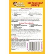 Pepsico Quaker Grits, Aunt Jemima Old Fashioned, 5 Pound -- 8 per case.