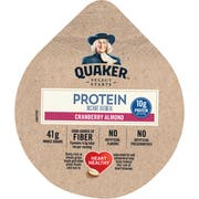 Quaker Cranberry Almond Instant Oatmeal Express Cup, 2.18 Ounce -- 12 per case.