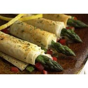 Cuisine Innovations Asparagus and Asiago Cheese Wrapped in Fillo -- 100 per case.