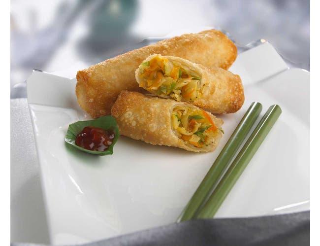 Cuisine Innovations Vegetable Egg Roll -- 100 per case.