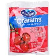Ocean Spray Craisins Raspberry Lemonade Flavored Dried Cranberry -- 200 per case