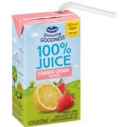 Ocean Spray Growing Goodness Strawberry Lemonade Juice, 4.2 Fluid Ounce -- 40 per case