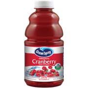 Cranberry Juice Cocktail Drink,Plastic Bottle, 32 Ounce -- 12 Case