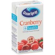 Ocean Spray Cranberry Plus Health Juice Drink, 4.2 Fluid Ounce -- 40 per case.