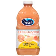 Ocean Spray 100 Percent Grapefruit Juice, 60 Fluid Ounce -- 8 per case.