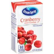Ocean Spray Cranberry Cocktail Juice, 4.2 Fluid Ounce -- 40 per case.