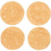 Mexican Original Whole Wheat Heat Pressed Tortilla, 6.25 inch - 12 count per pack -- 24 packs per case.