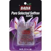Badia Spanish Pure Saffron, 0.014 Ounce -- 12 per case