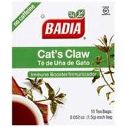 Badia Cats Claw Tea - 10 tea bags per pack -- 200 packs per case