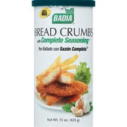 Badia Bread Crumbs with Complete Seasoning, 15 Ounce -- 12 per case