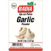 Badia Garlic Powder, 4 Pound -- 4 per case